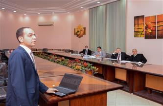 إجراء مقابلات شخصية لاختيار القيادات الإدارية بجامعة طنطا | صور