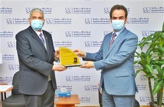 صلاح عبيه يتسلم جائزة زويل من مركز القاهرة للدراسات الإستراتيجية
