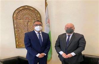 «الملا» يبحث تعزيز التعاون بين مصر وغرفة التجارة النمساوية - العربية