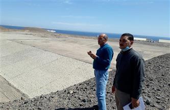 لجنة لمتابعة السدود والبحيرات للوقوف على جاهزيتها لمواجهة السيول بسفاجا   صور