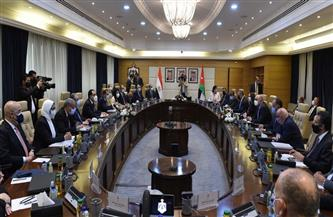 مناقشات تفصيلية لأوجه التعاون الثنائي المصري الأردني من جانب الوزراء المعنيين