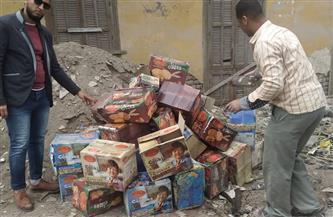 ضبط 4 أطنان مخلل وإعدام مواد غذائية في حملة لصحة الدقهلية استعدادا لشهر رمضان | صور