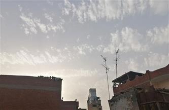 رياح حارة محملة بالأتربة في الفيوم | صور