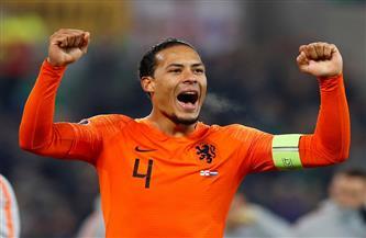المنتخب الهولندى يستبعد مشاركة فان دايك في بطولة أوروبا