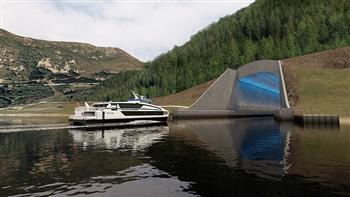 النرويج تشقّ أول نفق  للسفن في العالم داخل جبالها |صور