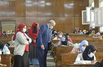 ضبط 3 حالات غش وغياب 43 طالبا في امتحانات جامعة الفيوم اليوم