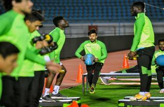 «صقر سيراميكا» يغادر المران متأثرا بكدمة قوية في القدم اليمنى