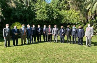 سفير  مصر في بوينس أيرس يلتقي وزير الخارجية الأرجنتيني | صور