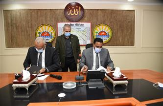 محافظ مطروح: توقيع بروتوكول لتطوير المنطقة المحيطة  بقلعة شالي في سيوة   صور