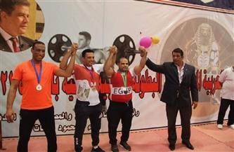 عمر أشرف.. طالب مصري يحصد 3 ذهبيات في البطولة العربية للقوة البدنية