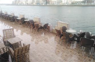 سقوط أمطار متوسطة على محافظة دمياط | صور