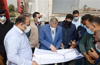 محافظ سوهاج يتفقد مشروعات الطرق والكباري بالبلينا وجرجا | صور