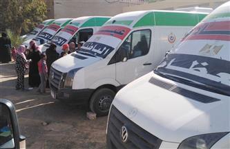 الصحة: 2000 سيارة قوافل علاجية وإسعاف لتقديم خدمات طبية أثناء فترة تطوير قرى الريف المصري