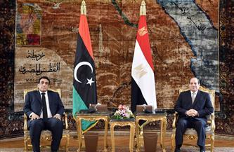 الرئيس السيسي: مصر على أتم استعداد لتقديم خبراتها للحكومة الليبية في مختلف المجالات