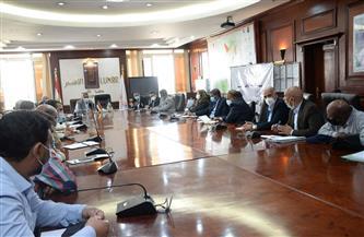 وفد مجلس الوزراء في الأقصر لبحث الموقف التنفيذي لمشروع تطوير القرى |صور