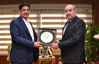 وزير الطيران المدنى يلتقى وزير الحج والعمرة بالسعودية |صور