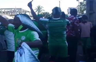 احتفالات صاخبة لمنتخب جزر القمر بعد التأهل لأول مرة إلى أمم إفريقيا | فيديو