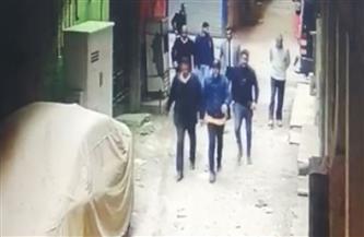 شاهد لحظة القبض على قاتل زوجته بعين شمس  فيديو