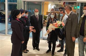 ماجدة الرومي تصل القاهرة لإحياء حفل مسرح قصر القبة