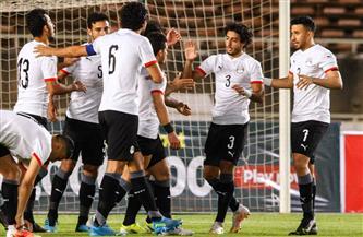 بعثة المنتخب الوطني تصل القاهرة بعد التأهل إلى أمم إفريقيا