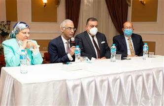 رئيس جامعة بورسعيد يفتتح مؤتمر الجمعية المصرية لأمراض دم الأطفال والأورام | صور