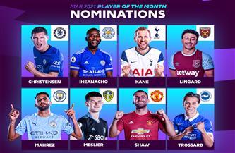 غياب صلاح.. تعرف على المرشحين لجائزة لاعب الشهر في الدوري الإنجليزي