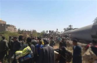 """ركاب أحد قطاري طهطا يروون لــ""""بوابة الأهرام"""" تفاصيل المشاهد المرعبة في حادث التصادم"""