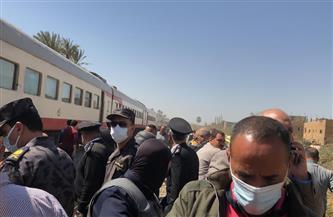«الصحة»: ارتفاع عدد المصابين في حادث قطاري سوهاج لـ84  و32 وفاة