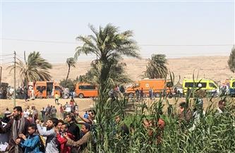 """""""نقل البرلمان"""": نتابع حادث تصادم قطاري سوهاج لحظة بلحظة.. واجتماع طاري للجنة"""