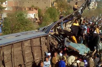 """""""المصريين الأحرار"""" يُشيد بتعامل أجهزة الدولة مع أزمة حادث قطاري طهطا"""