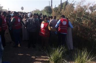 الهلال الأحمر المصري يدفع بفرق الاستجابة للطوارئ.. ويقدم الإسعافات الأولية لمصابي قطاري طهطا |صور