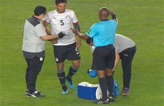 حمدي فتحي يغادر معسكر المنتخب بعد تأكد إصابته بشرخ في إحدى عظمتي الذراع