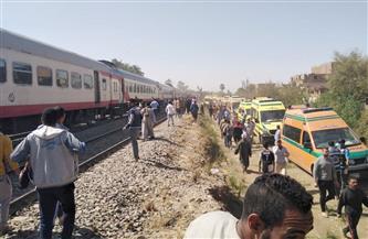 رفع حالة الاستعداد بمستشفى بني سويف الجامعي تحسبا لاستقبال مصابين من حادث قطاري طهطا