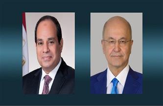 الرئيس العراقي يعزي الرئيس السيسي في ضحايا حادث قطاري سوهاج