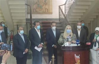 وزيرة التضامن تعلن من سوهاج حجم التعويضات لضحايا «قطاري طهطا»