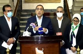 تفاصيل المؤتمر الصحفي لرئيس الوزراء بسوهاج حول حادث قطاري سوهاج