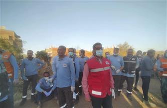 رجال الإسعاف.. جنود الإنقاذ في حادث قطاري سوهاج | صور