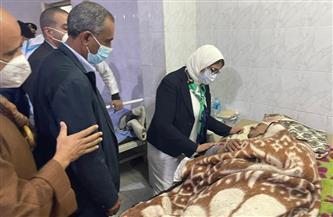 وزيرة الصحة: 3 حالات فقط من مصابي حادث قطاري سوهاج تحتاج لتدخل جراحي دقيق