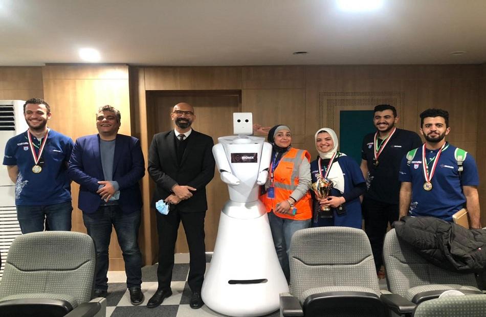 «هندسة المنصورة يفوز بالمركز الأول ببطولة مصر المفتوحة للروبوت | صور