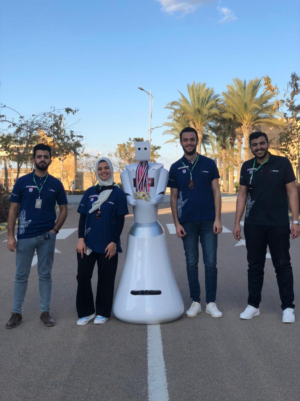 بطولة مصر المفتوحة للروبوت