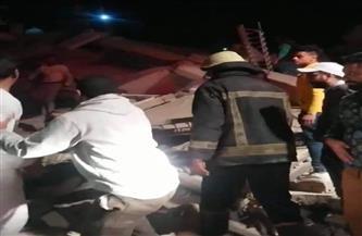 وفاة 3 أشخاص وإصابة 23 آخرين في عقار جسر السويس المنهار| صور