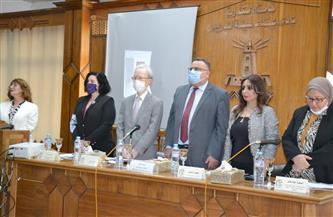 جامعة الإسكندرية تنظم ندوة لمناهضة العنف ضد المرأة بحضور السفير الياباني  صور