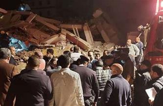 إصابة شخص وإنقاذ 3 آخرين في انهيار جزئي لعقار بالإسكندرية