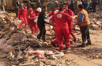 ارتفاع ضحايا عقار جسر السويس المنهار إلى 10 وفيات