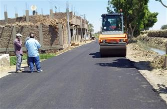 رئيس مركز الزينية يعلن استكمال أعمال رصف طريق نصرالله الأقصر- العشي |صور