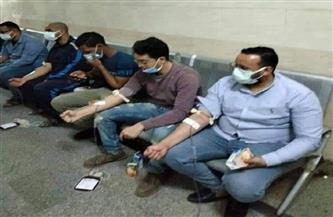 طارق نصير: حزب حماة وطن قام بتنظيم عملية التبرع بالدم في سوهاج |فيديو
