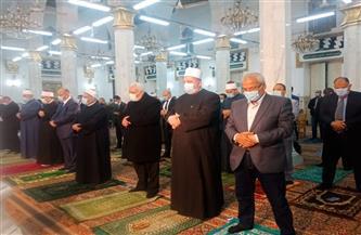 وزير الأوقاف يؤدي صلاة الغائب على أرواح ضحايا حادث قطاري سوهاج قبل احتفالية ليلة النصف من شعبان