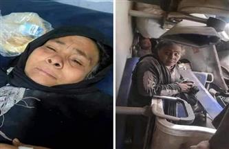 """سيدة قطار سوهاج: """"ابني طردني وركبت القطار عشان أروح السيدة زينب"""""""