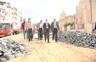محافظ الغربية يتفقد عددا من مشروعات التطوير والرصف الجارية بطنطا| صور
