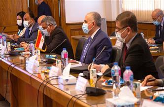 وزير الري يبحث مع مبعوثين أمريكي وأوروبي الموقف الراهن لمفاوضات السد الإثيوبي| صور